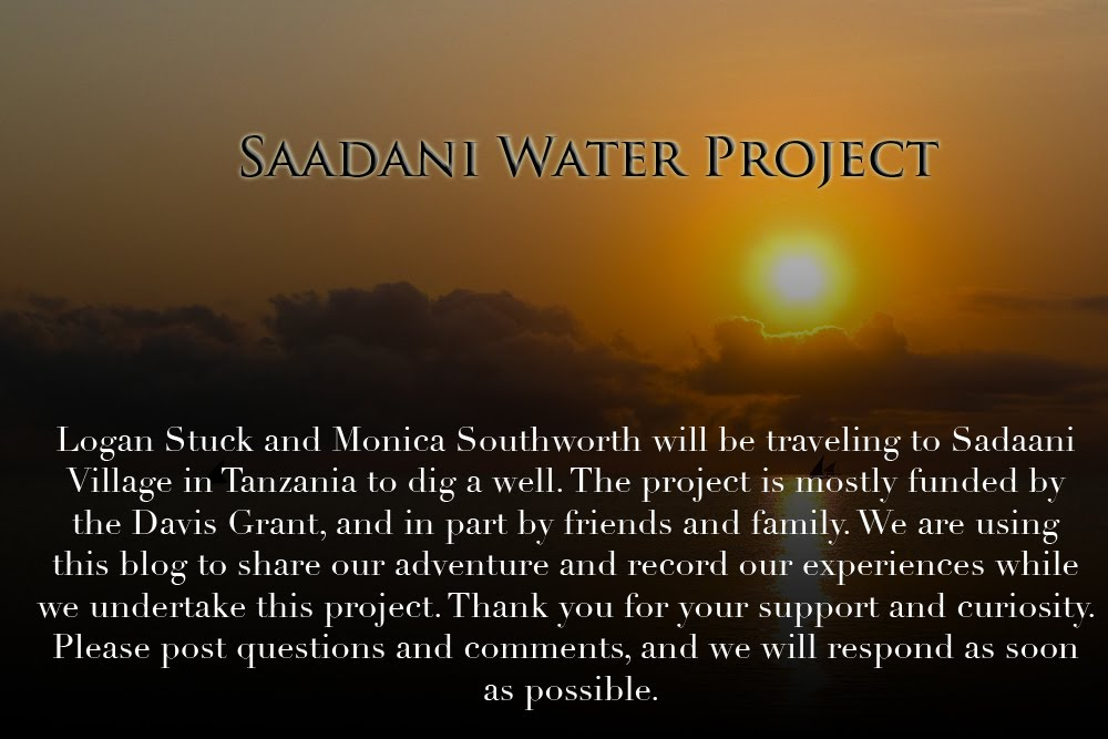 Saadani Water Project