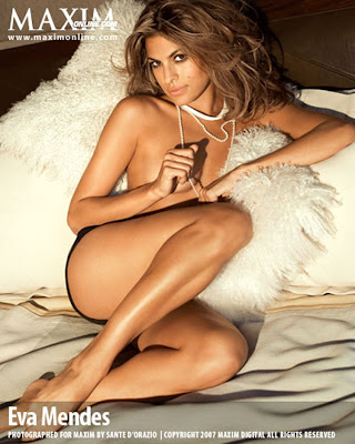 Eva Mendes cover girl