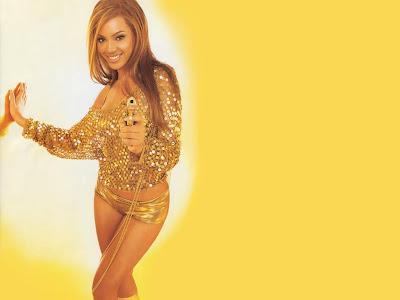 Beyonce Knowles Bikini Wallpaper