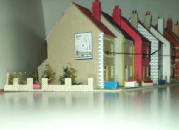 bloc de maisons
