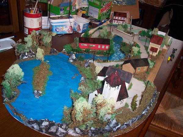 le village au bord du lac