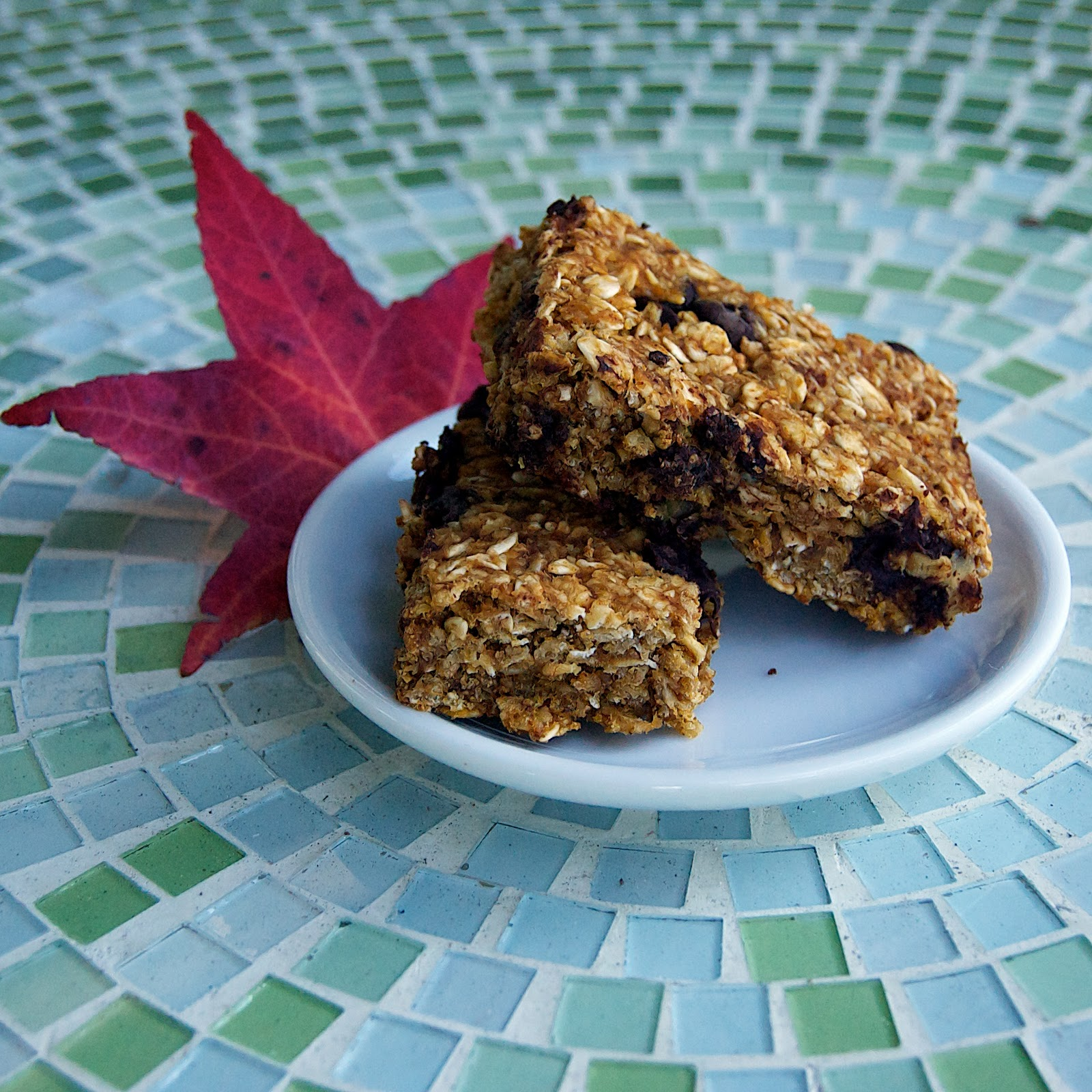 The Ginger Cook: Pumpkin Chocolate Chip Granola Bars