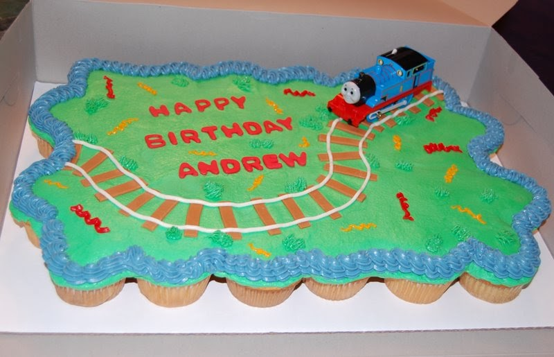 Cakes By Vanessa Thomas The Train Cupcake Cake