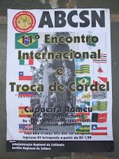 11 Encontro Internacional e Troca de Cordel