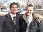Elder Michael and Brother Michael