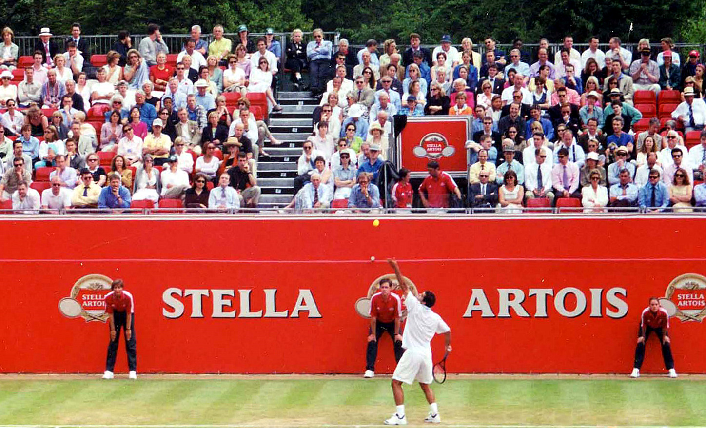 Pete Sampras Serve at the Stella, 2000