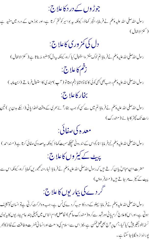 Islamic urdu books: tib e nabavi in urdu