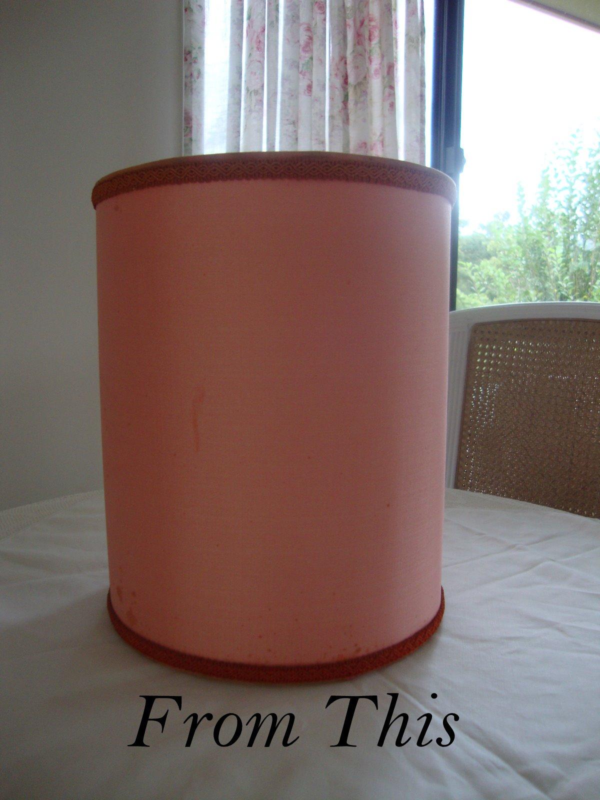 grain sack lamp. Black Bedroom Furniture Sets. Home Design Ideas