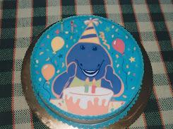 Barney cumple Dos Años