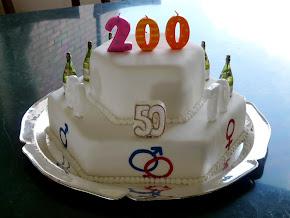 Torta de Tres Celebraciones que suman 200Años