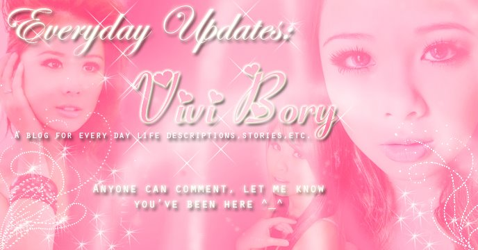 Vivi Bory : Everyday Updates