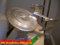 sand casting aluminum spaceship part 3