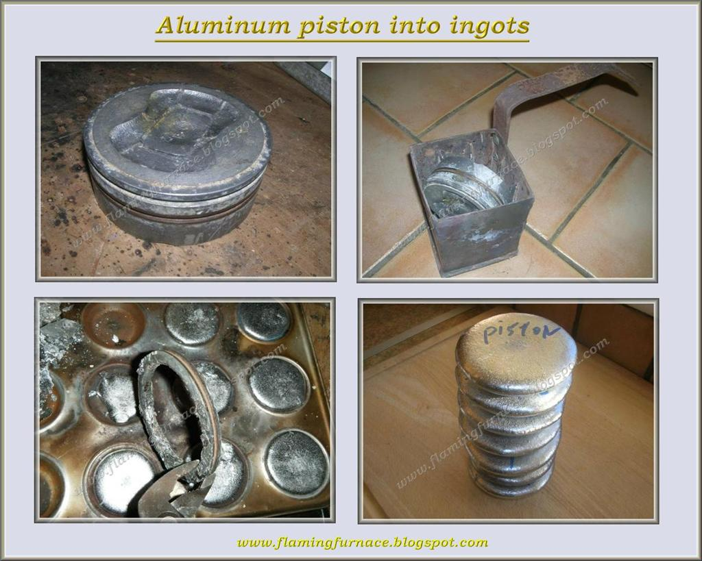 aluminum parts and ingots metal casting projects