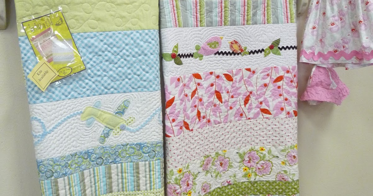 The Gathering Place Quilts Two Peas In A Pod Baby Quilt Kit
