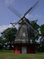 Windmill in Copenhagen, Denmark