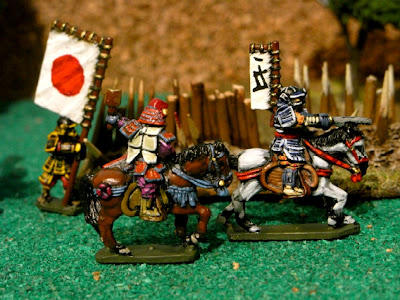 Peter pig samurai 15mm montados