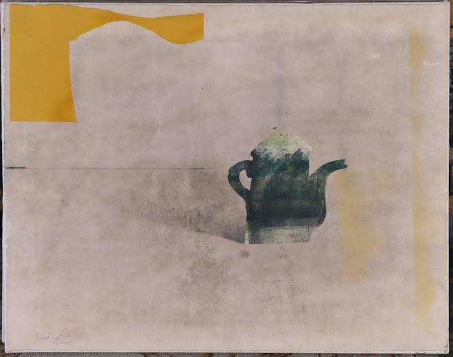 """Obra Original """"Angle Groc"""" 73 x 92 cm"""