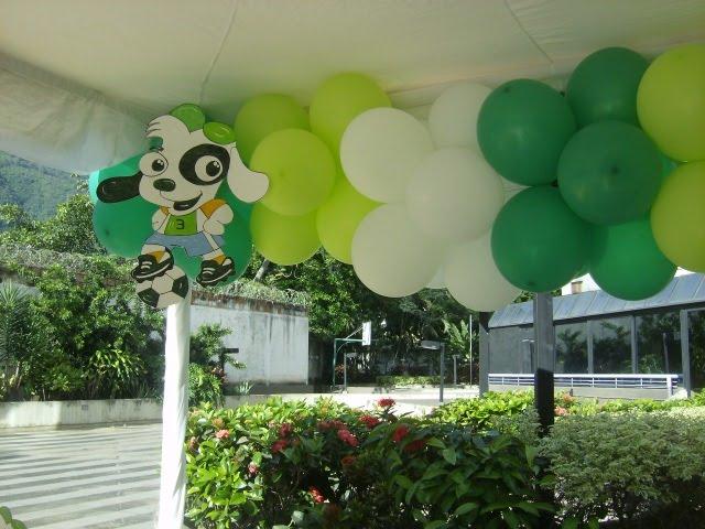 Decoracion Al Aire Libre De Fiestas Infantiles ~ decoraciones con globos para las fiestas infantiles y cotillones para