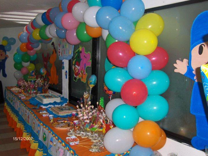 Decoraci nes infantiles con globos para ni os imagui - Decoraciones infantiles para ninos ...