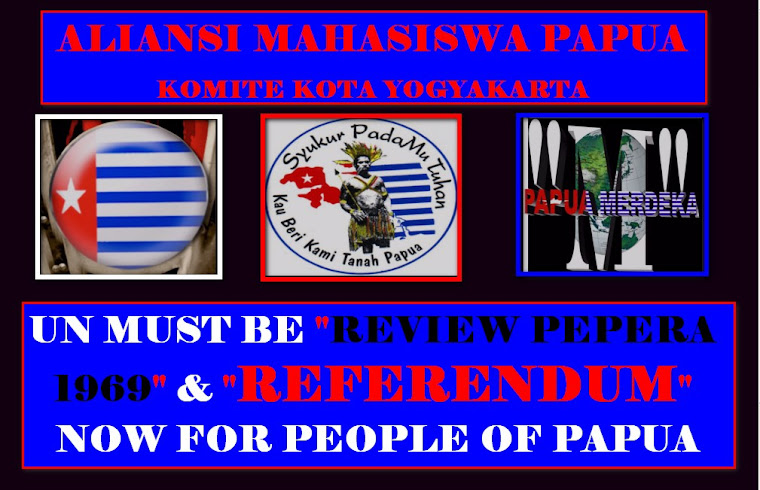 SAVE WEST PAPUANS PEOPLE SOUL