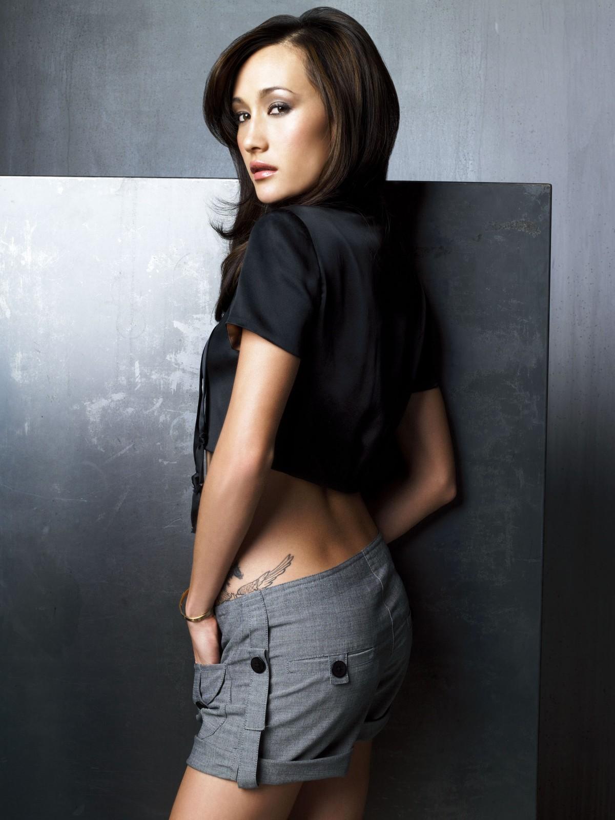 Maggie Q Tattoo Pics+3jpg