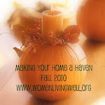 Making Your Home a Haven Fall Challenge