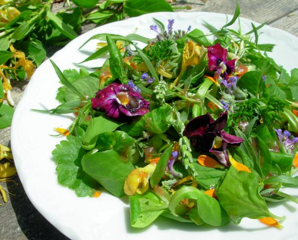 Flower and Herb Salad