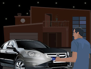 Inspect the car under bright lights so that you don't miss the damages