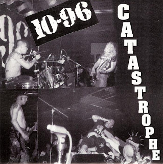 Cover Album of 10-96 - CATASTROPHE EP