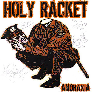 Cover Album of HOLY RACKET - ANORAXIA 7'' (2005)