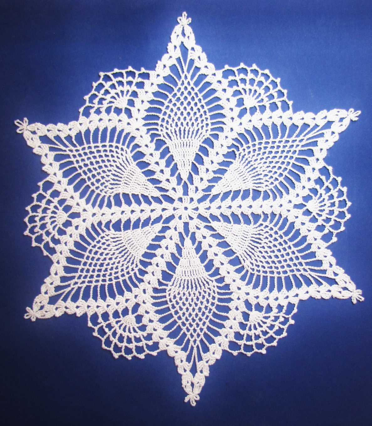 table topper crochet doily patterns | eBay