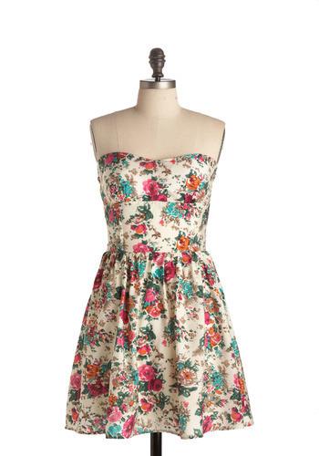 [floral+pretty+dress]