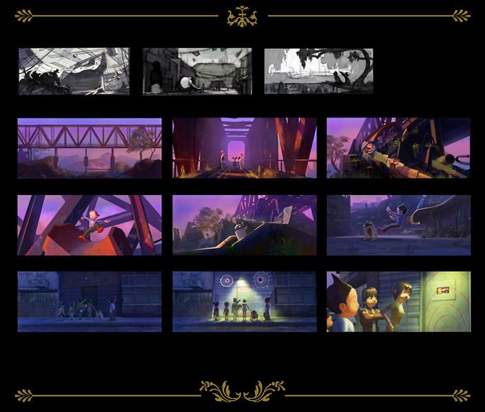 Felix Ip。蟻速畫行: The Art Of AstroBoy Movie 04