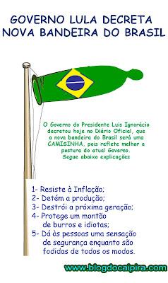 bandeira do Brasil na era Lula
