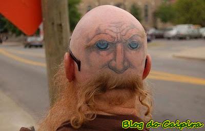 tatoo na cabeça