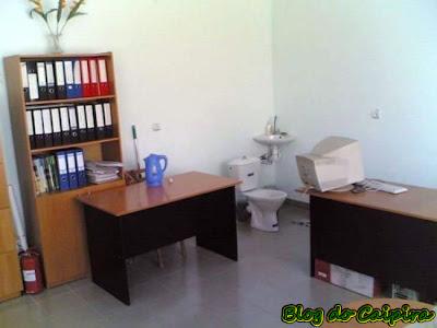 banheiro do escritório