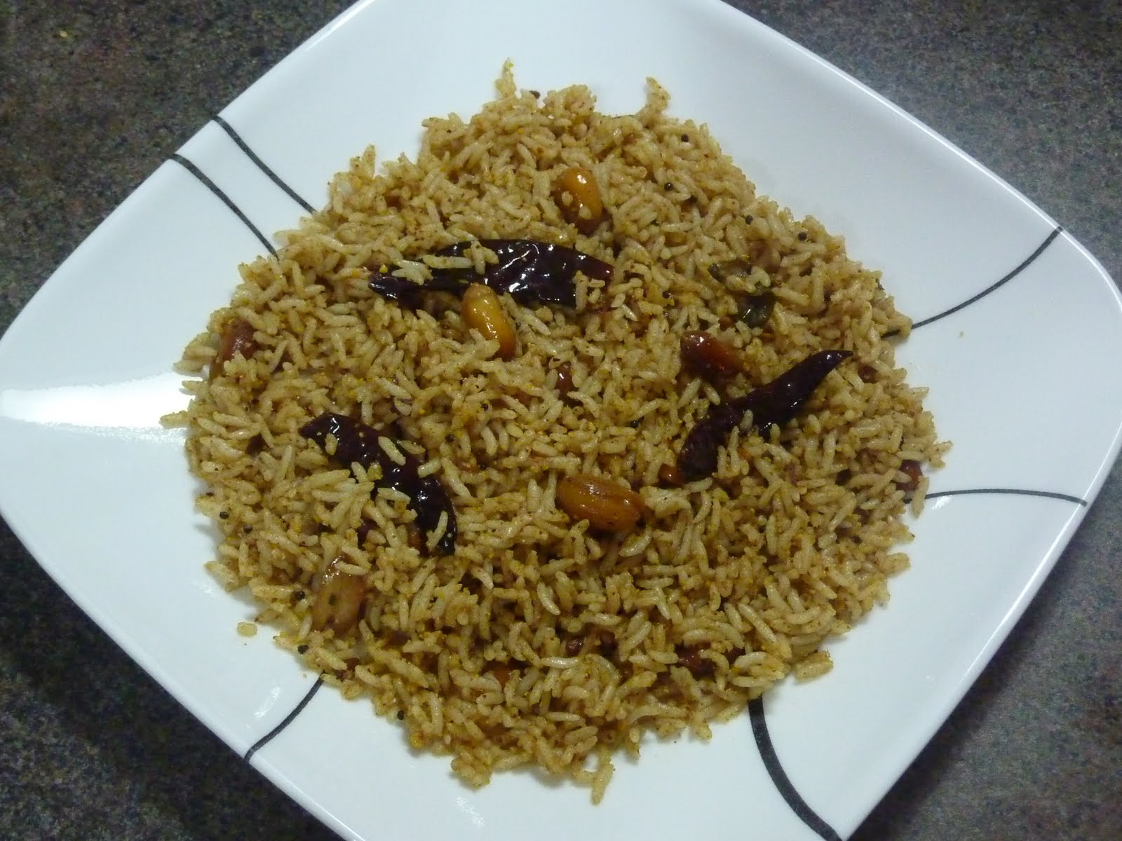 Tamarind Rice Recipe — Dishmaps