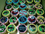 Cuppies Ben 10-Cika 2nd B'day party