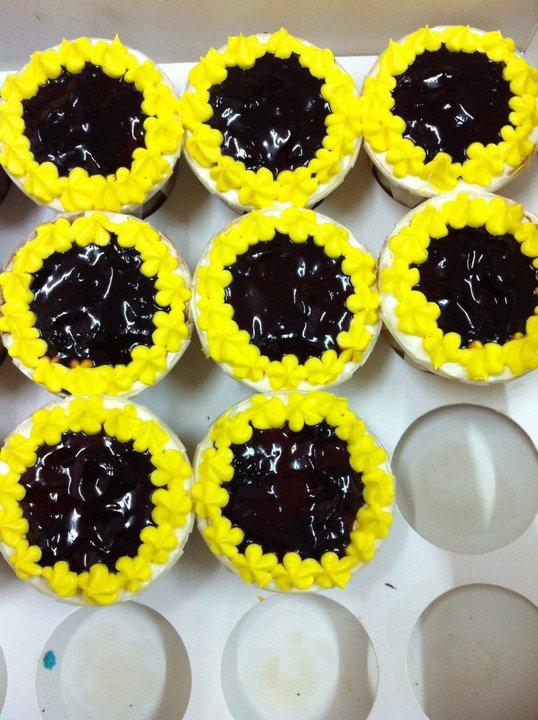 Sarah Cup cake-Tempahan dari Boss Puan Tina for Dept meeting