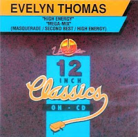 Cover Album of EVELYN THOMAS - 12 Inch Classics On Cd (1993)
