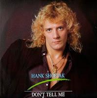 Cover Album of HANK SHOSTAK - Don't Tell Me (1986)