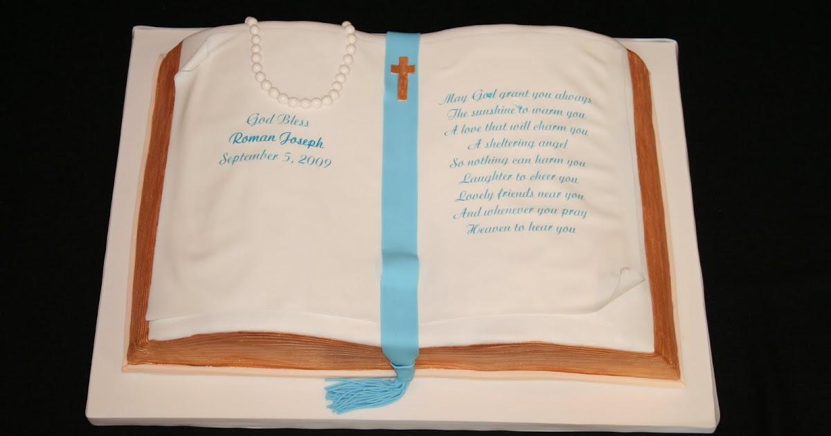 Christening Cake Book Design : Sweet Grace, Cake Designs: Open Bible Christening Cake