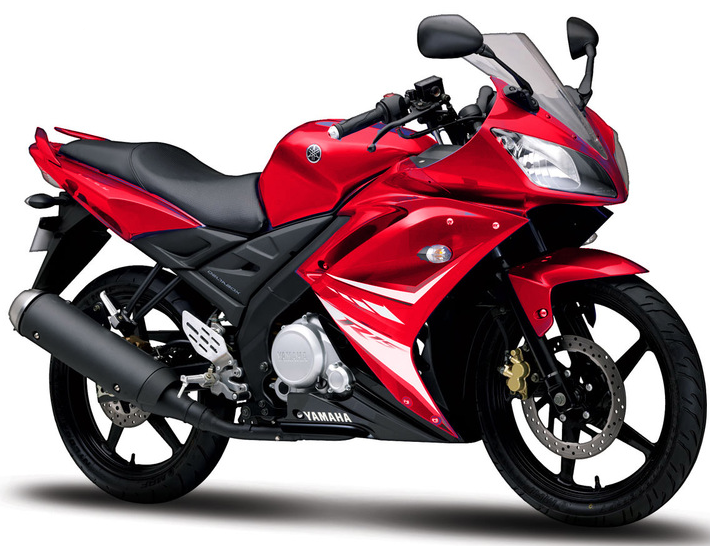 Yamaha R15 bike picture with all available colors