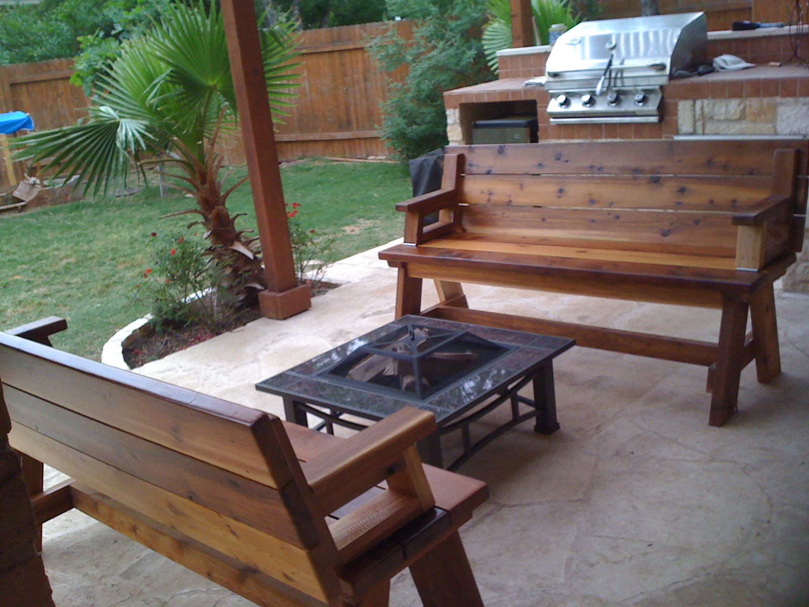 Best Woodworking Plan Site Fire Pit Benches Wooden Plans