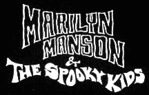 MARILYN MANSON AND THE SPOOKY KIDS WEBSITE