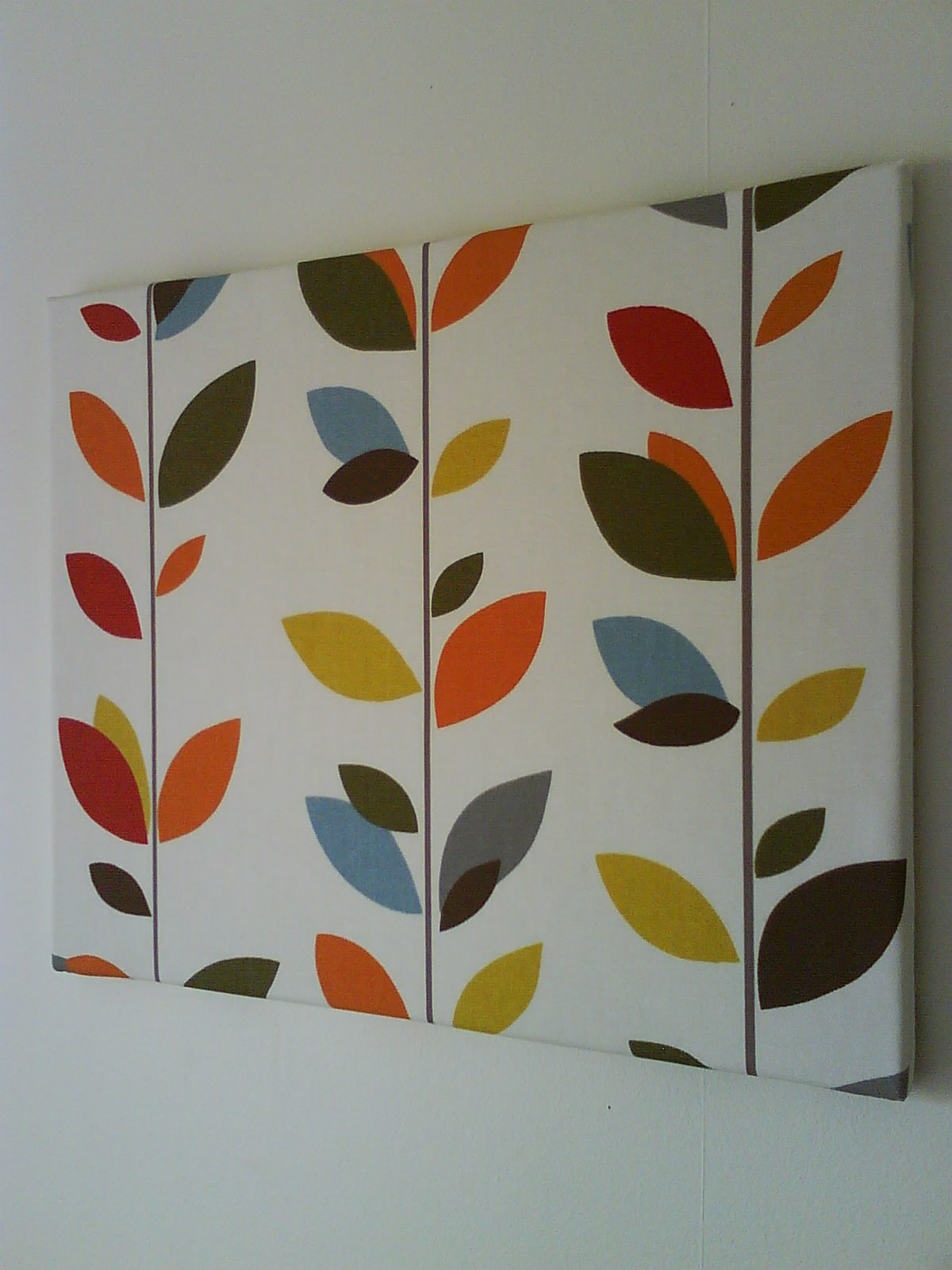 anminternational: colourful multi stem fabric canvas wall art
