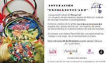 """EXPOSICION DE RECYCL""""ART EN LUCHI BISTRO"""