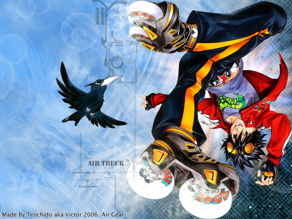 23 air gear anime wallpapers