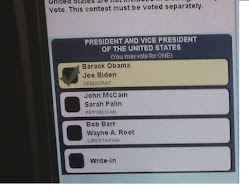 My Vote for Barack Obama