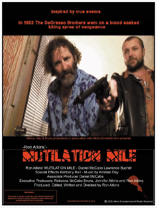 Постер 1 из фильма Кровавая миля /Mutilation Mile/ (2009) .